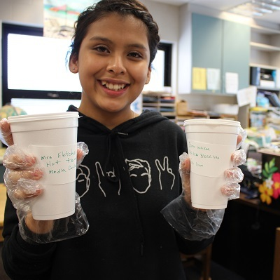 Students create Special Bean Cafe