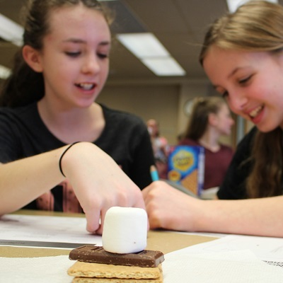 Students learn s'more about engineering at Purdue