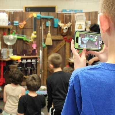 Students gain insight from Rube Goldberg champions