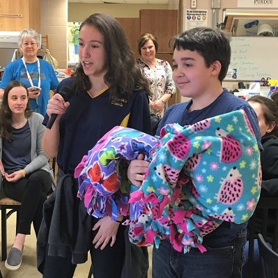 TSC students blanket others with kindness