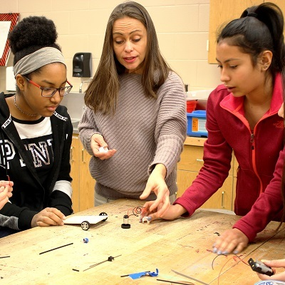 Purdue connections have students revved up for STEM