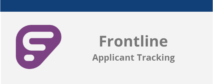 frontline applicant tracking