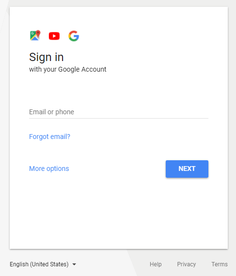 Google Sign-in Image