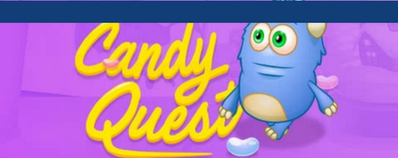 Candy Quest coding game