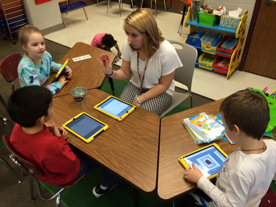 Instructional Resources - students on iPads